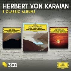 Herbert von Karajan (Герберт фон Караян): 3 Classic Albums: Sibelius, Grieg, Nielsen