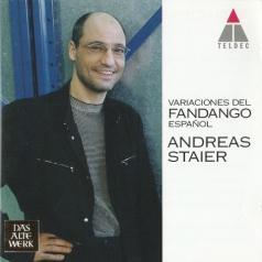 Andreas Staier (Андреас Штайер): Variaciones Del Fandango Espanol
