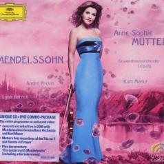Anne-Sophie Mutter (Анне-Софи Муттер): Mendelssohn: Vln Cto; Pno Trio; Vln Son