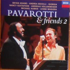 Luciano Pavarotti (Лучано Паваротти): Pavarotti & Friends 2