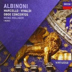 Heinz Holliger (Хайнц Холлигер): Albinoni Oboe Concertos; Concertos Marcello & Vivaldi