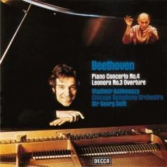 """Vladimir Ashkenazy (Владимир Ашкенази): Beethoven: Piano Concerto No.4; Overture """"Leonore No.3"""""""