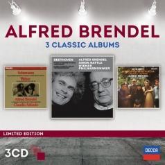 Alfred Brendel (Альфред Брендель): 3 Classic Albums