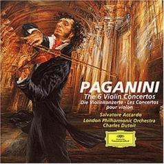 Salvatore Accardo (Сальваторе Аккардо): Paganini: The 6 Violin Concertos