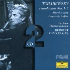 Herbert von Karajan (Герберт фон Караян): Tchaikovsky: Symphonies Nos.1 - 3; Marche slave; C