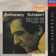 Владимир Ашкенази: Schubert: Piano Sonatas Nos.13 & 14; Ungarische Me