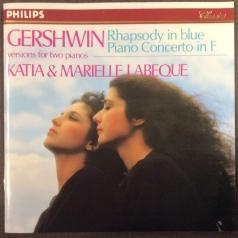 Katia Labeque (Катя Лабек): Gershwin: Rhapsody in Blue; Piano Concerto in F