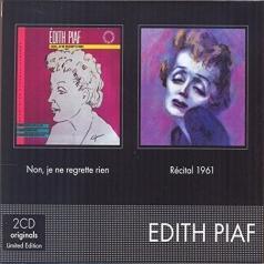 Edith Piaf (Эдит Пиаф): Non, Je Ne Regrette Rien / Recital 1961
