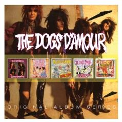 Dogs D'Amour: Original Album Series (In The Dynamite Jet Saloon / (Un)Authorised Bootleg Album / Errol Flynn / Straight / More Unchartered Heights Of Disgrace)