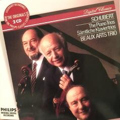 Beaux Arts Trio: Schubert: The Piano Trios