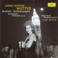 Anne Sophie Mutter (Анне-Софи Муттер): Brahms:Violin Concerto