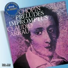 Claudio Arrau (Клаудио Аррау): Chopin: Preludes etc