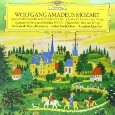 Amadeus Quartet (Амадеус-Квартет): Mozart: Clarinet Quintet In K, K.581; Oboe Quartet In F, K.370