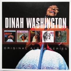 Dinah Washington (Куинси Джонс): Original Album Series (Dinah '62 / Dinah Washington In Love / Drinking Again / Dinah '63 / Back To The Blue)