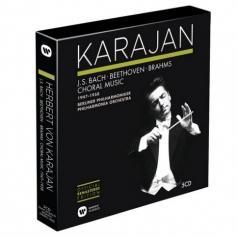 Herbert von Karajan (Герберт фон Караян): Bach, Beethoven, Brahms: Choral Music 1947-1958