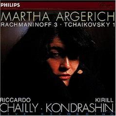 Martha Argerich (Марта Аргерих): Rachmaninov: Piano Concerto No.3 / Tchaikovsky: Pi