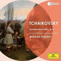 Михаил Плетнёв: Tchaikovsky: Symphony Nos.4-6