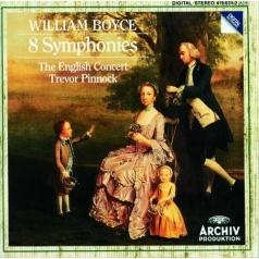 Trevor Pinnock (Тревор Пиннок): William Boyce: 8 Symphonies