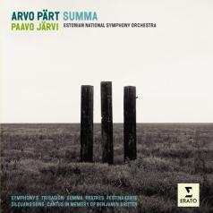 Paavo Jarvi (Пааво Ярви): Summa, Symphony No. 3, Fratres, Canticles In Memoriam Britten