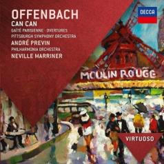 Andre Previn (Андре Превин): Offenbach: Can Can; Gaite Parisienne; Overtures
