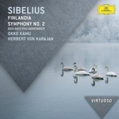 Herbert von Karajan (Герберт фон Караян): Sibelius: Symphony No.2; Finlandia