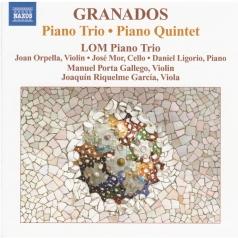 Enrique Granados (Энрике Гранадос): Granados: Piano Trio/ Piano 5Tet