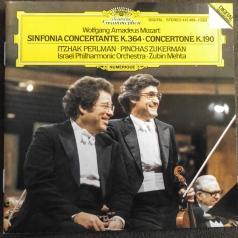 Zubin Mehta (Зубин Мета): Mozart: Sinfonia concertante K.364; Concertone K.1