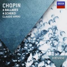 Claudio Arrau (Клаудио Аррау): Chopin: Ballades & Scherzi