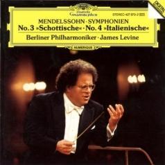 James Levine (Джеймс Ливайн): Mendelssohn: Symphonies Nos.3 & 4