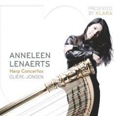 Anneleen Lenaerts (Аннелен Ленартс): Harp Concertos By Gliere, Jongen, Rodrigo