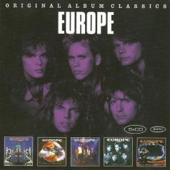 Europe: Original Album Classics (Europe / Wings Of Tomorrow / The Final Countdown / Out Of This World / Prisoners In Paradise)