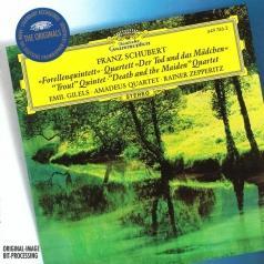 """Emil Gilels (Эмиль Гилельс): Schubert: Piano Quintet """"The Trout""""; String Quarte"""