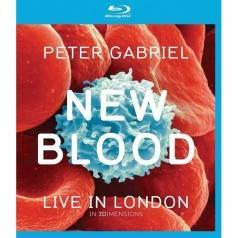Peter Gabriel (Питер Гэбриэл): New Blood: Live In London