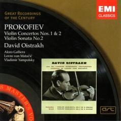David Oistrakh (Давид Ойстрах): Violin Concertos Nos 1&2