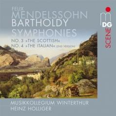 Nikolaus Harnoncourt (Николаус Арнонкур): Symphonies Nos 3 & 4