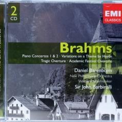 Daniel Barenboim (Даниэль Баренбойм): Piano Concertos Nos 1 & 2/Academic Festival & Tragic Overtures/Variations On A Theme Of Haydn