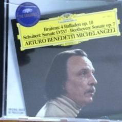 Arturo Benedetti Michelangeli (Артуро Бенедетти Микеланджели): Brahms-Klaviersonate
