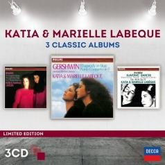 Katia Labeque (Катя Лабек): 3 Classic Albums