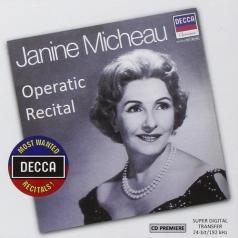 Janine Micheau (Джанин Мишо): Operatic Recital