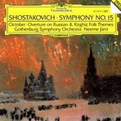 Neeme Järvi (Неэме Ярви): Shostakovich: Symphony No.15, Overture On Russian And Kirghiz Folk Themes