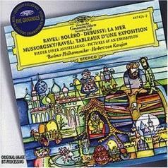 Herbert von Karajan (Герберт фон Караян): Ravel: Bolero/ Debussy: La Mer/ Mussorgsky: Pict
