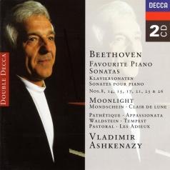 Владимир Ашкенази: Beethoven: Favourite Piano Sonatas