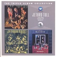 Jethro Tull (Джетро Талл): The Triple Album Collection: This Was / Stand Up / Benefit
