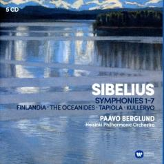 Paavo Berglund (Пааво Берглунд): The Symphonies, Kullervo, Finlandia, Tapiola, Etc.