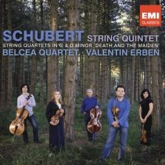 "Belcea Quartet (Белсеа Квартет): String Quintet, Quartet In G & D Minor ""Death And The Maiden"""