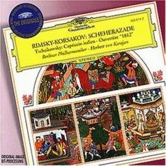 Herbert von Karajan (Герберт фон Караян): Rimsky-Korsakov: Scheherazade / Tchaikovsky: Capri