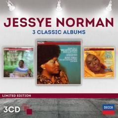 Jessye Norman (Джесси Норман): Three Classic Albums