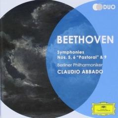 Claudio Abbado (Клаудио Аббадо): Beethoven: Symphonies Nos.5, 6  & 9