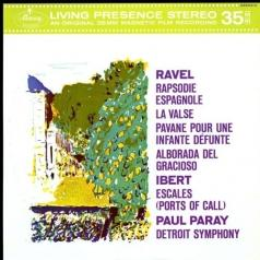 Paul Paray (Пол Парай): Orchestral Music By Maurice Ravel & Jacques Ibert