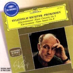 Sviatoslav Richter (Святослав Рихтер): Prokofiev: Piano Concerto No.5; Piano Sonata No.8